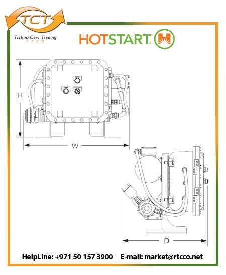 Hotstart OSX Oil Only Forced Circulation Heater Draft